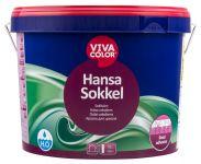 Ūdens bāzes krāsa cokoliem Vivacolor Hansa Sokkel Matēta A-bāze 9L