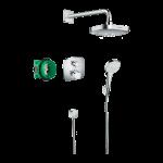 Iebūvējams dušas termostata komplekts Hansgrohe Croma Select E/Ecostat E Showerset