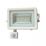 LED prožektors HAVEK 20W ar sensoru SMD 4000K 70LM/W IP65 balts