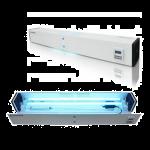 Baktericīdais caurplūdes gaisa recirkulātors līdz 60 metriem kv.ORBB 30х2