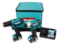 Instrumentu komplekts MAKITA CXT 12 V-Max, 2x2,0 Ah, DF333D + TD110D