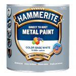 Krāsa metālam HAMMERITE SMOOTH BW 2.5l, spīdīga