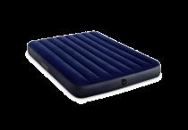 Piepūšams matracis INTEX Dura-Beam, pilna izmēra, zils