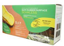 Komplekts gumijas seguma izveidei EPUFLEX DIY 1,5m2, zaļš