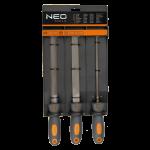 Vīļu komplekts NEO 200 mm, 3 gab.