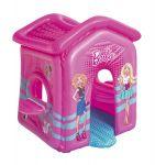 Piepūšamā māja Bestway Barbie Malibu Playhouse 150x135x142cm 93208