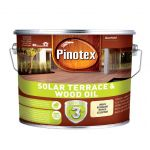 Eļļa terasēm Pinotex Solar Terrace and Wood Oil, Bezkrāsaina, 9.3L