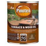 Atmosfērizturīga eļļa koksnei Pinotex Terrace&Wood Oil 1l tīkkoks