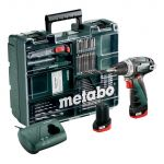 Akumulatora skrūvgriezis Metabo PowerMaxx BS Basic Set (600080880)