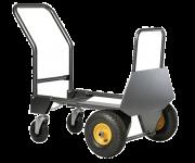 Kravu ratiņi Haemmerlin SACKTRUCK ROLLAX 950 G, 2 pneimatiski riteņi