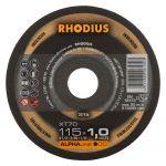Griezējripa Rhodius XT70 125x1.0x22 mm