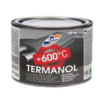 Termiski izturīga emalja RILAK TERMANOL alumīnija 0.45L