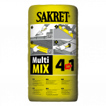 Universālā java SAKRET MultiMix 4in1 25KG