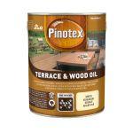 Atmosfērizturīga eļļa koksnei Pinotex Terrace & Wood Oil 3 L bezkrāsaina