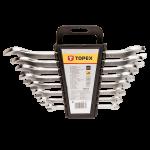 Uzgriežņu atslēgu komplekts TOPEX 35D656 6 - 22 mm