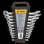 Kombinēto atslēgu komplekts TOPEX 35D757 6 - 22 mm