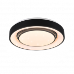 Plafonlampa Trio MONA LED, 20W, 2400lm, RGB, 38 cm, ar pulti, R65041032