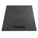 Dušas pamatne bez drenāžas TYCROC ST100 1000x1000x20 mm, 1 gab.