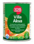 Ūdens bāzes krāsa koka fasādēm Vivacolor Villa Akva Matēta A-bāze 0.9L