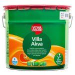 Ūdens bāzes krāsa koka fasādēm Vivacolor Villa Akva Matēta A-bāze 11.7L