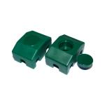Paneļa fiksators 40x30 mm, D6 mm, RAL6005