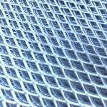 Cirsti vilkts siets, cinkots, 5x12x1.5/0.7 mm, 1.25x2.5 m