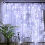 LED Diožu virtene-aizkari Visional 3x2 m, 240 LED, auksti balta