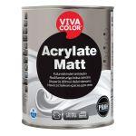 Nodilumizturīga krāsa sienām Vivacolor Acrylate Matt Matēta A-bāze 0.9L
