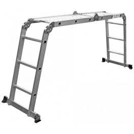 Многофункциональня лестница с платформой 4x3 ступеней